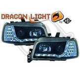 """Renault..""""DragonLights"""" Daylight/Parkeringsljus i slinga..Ett par designstrålkastare"""