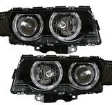 Opel./.Vectra B 99-02./.Styling. Designstrålkastare. Vänster.