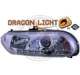 """Alfa Romeo..""""DragonLights"""" Daylight/Parkeringsljus i slinga..Ett par designstrålkastare"""