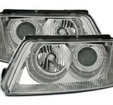 Angel Eyes Headlights VW Passat 3BG / Chrome