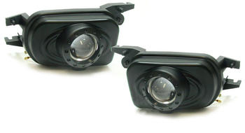 Dimljus set svart projektor CLK C209 02-