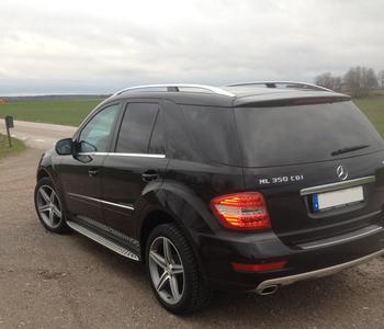 KUNDBILD. Mercedes ML 350 cdi  i Källby