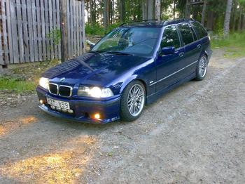 BMW E36 touring. Sollefteå