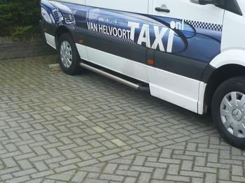 Sidosteg.Sidebars Sprinter '06> mat Taxi uitv. L3