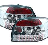 LED-baklyktor Audi A3 8P Limo / Chrome