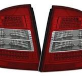 LED bakljus för Opel Astra G Sedan / Röd-Vit
