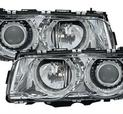 Angel Eyes kromade Facelift from 98-, till 7er BMW E38