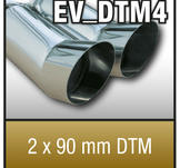 "SuperSport Tips variant DTM4 ""2x90mm DTM Skarp kant"