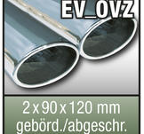 "SuperSport Tips variant OVZ ""2x 90x120mm överfras, flänsade rim"