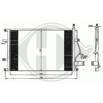 KONDENSATOR S60/80 +TURBO,98-07              635x425