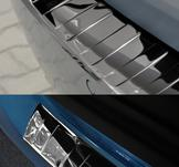 E-klass W212 T-modell, böjning, kant - GRAPHITE COLOR + RED CARBON, granskningsbild..fl2013-2016