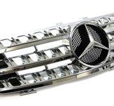 Mercedes ML W164 Sport Grill, Krom