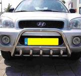 Frontbåge Hyundai Santa Fe (type1 1999-2005) Med motorskydd 60 mm