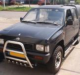 Frontbåge Nissan Pickup Doublecab Kingcab 60 mm (motorskydd)