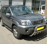 Frontbåge Nissan X-Trail 2001-2007 60 mm (motorskydd)