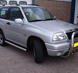 Frontbåge Suzuki Grand Vitara 1999-2005 70 mm (motorskydd hög)