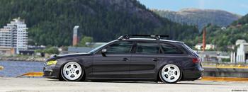KUNDBILD. Audi S4, Namsos, Norge