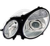 Mercedes./.E-Kl.E220-500 W211 02-06./.Styling. Designstrålkastare. Ett par höger & vänster