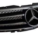 Mercedes SL R230 sportgrillen Svart / Krom