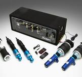 AirRex. Luftfjädringssystem.MINI COOPER.R50 R51 R52 R53.02~07.Främre fjäderben inkluderar topplagring.Bakfjädring inkluderar topplagring.Noterade priser är för 2 främre luft fjäderben och 2 bakre stöttor luft (eller luftfjäder + dämpare), ej kompressor