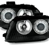 Angel Eyes  Xenon strålkastare i svarttill Audi A3 8P