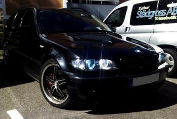 BMW E36 Touring. Färjestaden. KUNDBILD