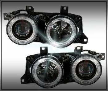 Angel Eyes svart till BMW E32 och 34