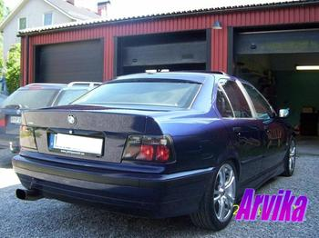 BMW E36 328 sedan. Arvika