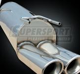 BMW..Ljuddämpare rostfritt stål..slutljuddämpare..3er II