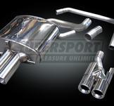 BMW..Ljuddämpare rostfritt stål..slutljuddämpare..X5 I
