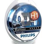 Philips H1 Blue Vision Xenon effekt W5W