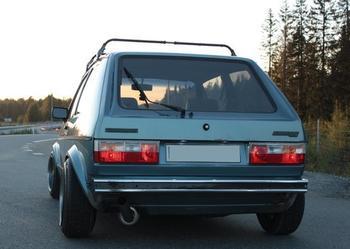 VW Golf 1 i Skellefteå. KUNDBILD