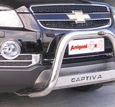 Frontbåge. Chevrolet Captiva 60 mm