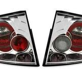 Bakljus i krom för Audi TT 8N