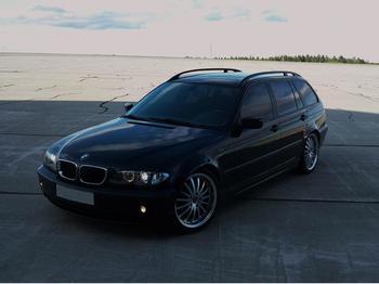 BMW 320d touring. Frösön