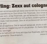 Tävling Zexx Auto cologne