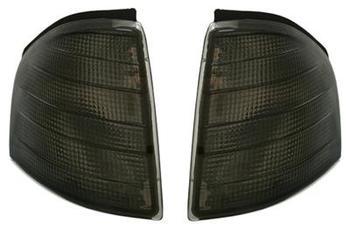 Frontblinkers till Mercedes W202 C-Klass, svarta