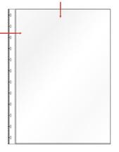 [Utgående] Ficka A4 PP glas 0,10 med t-hålning