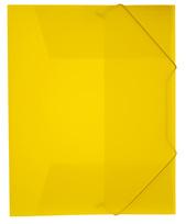 Mapp g-snodd monterade A4 pp gul bred 0,45 cristaline