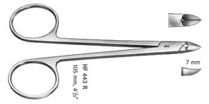 Sax nyp Aesculap vinkl/rak 102mm HF443R