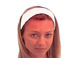 Hårband kosmetik kardborre 5 cm