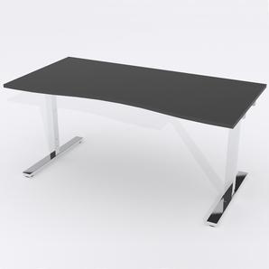 Schreibtisch Ursagad Manuelle 180x82 HP Laminat Schwarz