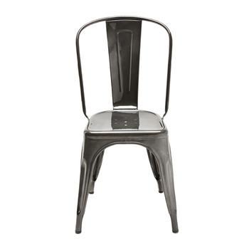 Tolix A stol , lackad metall