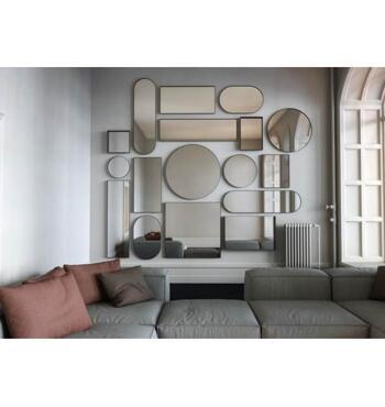 Frost-Oval spegel -4138