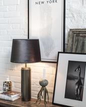 Bordslampa-lampfot- Cylindrica
