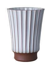 Sthål-Salon-High vase -Putty