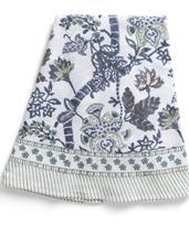 Chamois-rund bomullsduk-floral, 2 storlekar