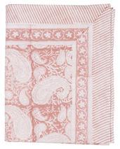 Chamois-Big Paisley-duk fuchsia rose  170x270 cm