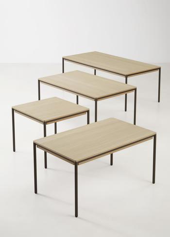 Woud-matbord-Piezas-200/245cm