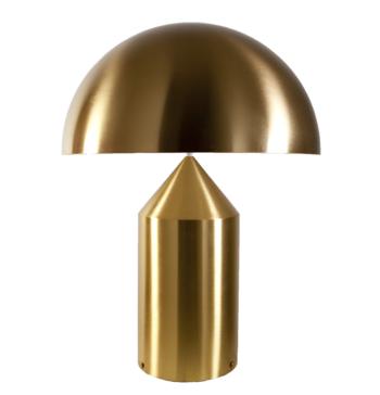 Oluce-Atollo 233  large, guld